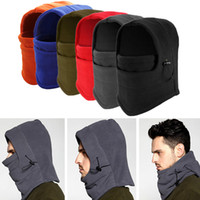 Wholesale Fleece Head Warmers - Winter Bicycle Mask Fleece Face Windproof Warmer for Motor cycling Snowboarding Outdoor Ski Sports Moisture Wicking Head Hood Warm Gear New