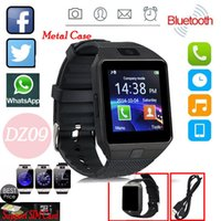Wholesale Android Os Cell Phones - Dz09 Bluetooth Smart Watch All in one, Unlocked Watch Cell Phone, Bluetooth wach for Iphone and Android phones Samsuny Galaxy Note ,TCL, ZTE