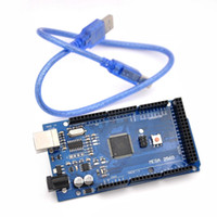 Wholesale Mega R3 Mega2560 REV3 ATmega2560 AU CH340G Board without USB Cable Compatible for Arduino