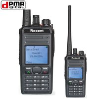 DPMR Digital Two Way Radio RS-619D 256-канальный UHF Профессиональный Walkie Talkie с жидкокристаллическим дисплеем Литий-ионная батарея 1800mAh