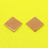 Wholesale Copper Vga Heatsink - Wholesale- TL-101 15x15x1.5mm Copper Shim Heatsink Thermal Pad Heat Sink Sheet DIY For Laptop GPU CPU VGA Chip RAM cooler cooling