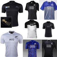 Wholesale Thailand Quality Free Shipping - NEW 2017 Zealand RUGBY jersey 15 16 17 18 Top Thailand quality RWC NRL Super RUGBY home and away All blacks Shirts Free Shipping