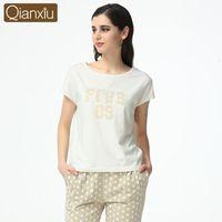 New 2016 Spring Autumn Women s Short Sleeve Pajama Sets Women Sleepwear  Pajamas for woman casual sleep lounge girls pijama 71b0e510b