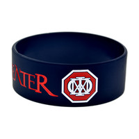 Wholesale Dream Jelly - 1PC 1'' Wide Band Dream Theater Silicone Wristband, A Great Way To Show Your Idol By Wear This Kind Of Bracelet