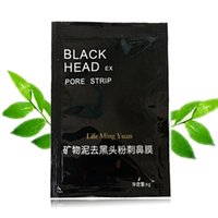 Wholesale Post Mask - The black black mud nasal membrane mineral mud mask post tear type to black contractive pore nose manufacturers selling DHL free shipping