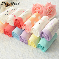 Wholesale Ladies Cotton Underwear Wholesale - DEWBest Women Panties Mixed colors 12pcs lot fashion lady panties girls underwears plus size woman underwear