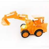 Wholesale New Ship Construction - 2017 New Miniature Kingdom Death Brinquedos Excavator Toy City Construction Bulldozer Tractor Cars Kit Kids Building Machinery Gifts Truck