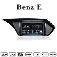 Wholesale mercedes benz dvd for car for sale - Android Navigation Car DVD Player car stereo For Mercedes Benz E W212 support Wifi GPS BT Radio Mirrolink