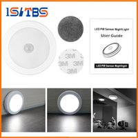 Wholesale Magnetic Figures - Magnetic Infrared IR Bright Motion Sensor Activated LED Wall Lights Night Light Auto On Off Battery Operated for Hallway Pathway