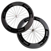 Super Light 1470g Apenas 88mm Clincher / rodas de bicicleta de carbono tubulares com Poweway R13 hub Road Bike Wheelset CSC Decal Wheels