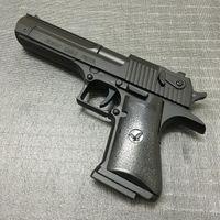 Wholesale Pistol Lighters - Large Metal Desert Eagle Beretta Pistol Lighter M92F Simulation Model Lighter Metal Revolver Type Gun Lighter