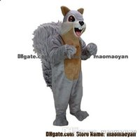 Wholesale Squirrel Mascot Costumes - squirrel Mascot Costumes Cartoon Character Adult Sz 100% Real Picture2