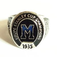 Wholesale Montreal Tin - 1935 montreal maroons coupe stanley cup championship ring