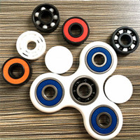 Wholesale Pure Bear - Fidget spinner fingertips spiral fingers gyro Torqbar Brass pure copper toys 608 bearing rotation decompression top toys B
