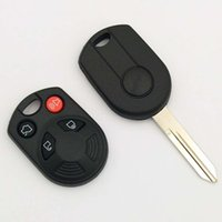 Wholesale Ford Focus Parts - Best car 4 button replacement remote key shell Fob key cover for Ford Focus 3 parts