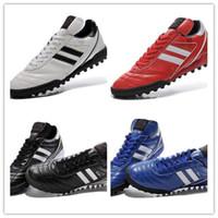 Wholesale Kids Winter Shoes Free Shipping - 2017 Shipping Kaiser 5 liga TF Originals kids Superstar Casual Shoes Cheap kids soccer Shoes 100% Original Free kids football size 39-46