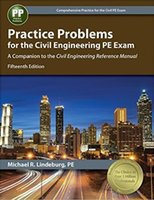 Wholesale Civil Engineering Reference Manual - 2017 New Book Practice Problems for the Civil Engineering PE Exam :A Companion to the Civil Engineering Reference Manual 20pcs