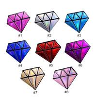 Wholesale Zipper Charms Wholesale - Fashion Handbags Charming Nice Women Hologram Diamond Shape Laser Holographic Crossbody Chain Messenger Bags Cute Cosmetic Bags 3007010
