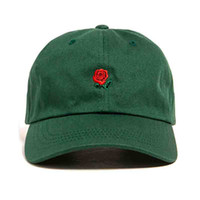 Wholesale Fitted Trucker Hats - Wholesale- Russian The Hundreds rose cap adjustable hip hop snapback baseball cap men women hat yeezus fitted trucker hat bone