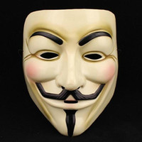 Wholesale Vendetta Resin - Hot Selling Party Masks V for Vendetta Mask Anonymous Guy Fawkes Fancy Dress Adult Costume Accessory Party Cosplay Masks