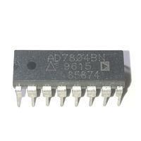 temporizador ic pin al por mayor-AD7804BN. AD7804B, CARGA DE ENTRADA EN SERIE, 1.5 us SETTLING TIME, 10-BIT DAC, doble en línea, paquete de plástico DIP de 16 pines IC / AD7804BNZ. PDIP16