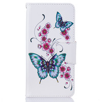 Wholesale y5 phones online – Peach Flower Wallet Leather Case For HUAWEI P9 P9 LITE Y3 Y5 Y6 Back Stand Holder Credit Card Holder Slot Phone Cases