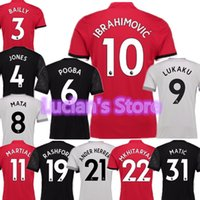 Wholesale red journey - The King's Back The Journey Continues Zlatan Ibrahimovic 17 18 Home Red Away Black Third Grey Number 10 Soccer Jerseys Top Thai Quality