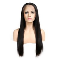 Wholesale weave hairstyles for black hair online - Slove Hair Lace Wigs Brazilian Virgin Human Hair Weaves Human Hair Lace Wigs For Black Women Straight Density