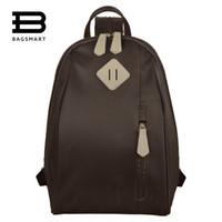 Wholesale Shoulder Bags For Middle School - Wholesale- BAGSMART 2017 Backpacks For Middle School Girls Candy Color Shoulder School Bags Nylon Backpacks For Teenager Girls Back Pack