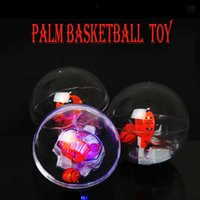 Wholesale Magic Led Time - New Magic Electronic Basketball Game Toys Led Luminous with Music Hand Decompression Toys for Kids Adults Office Home Leisure Time