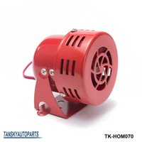 Wholesale Truck Speaker Horn - Tansky -high quality New 12V Motor Driven Red Air Raid Siren Horn Alarm Horn Car Truck TK-HOM070