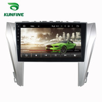Wholesale Toyota Camry Stereos - Octa Core 2GB RAM Android 6.0 Car DVD GPS Navigation Multimedia Player Deckless Car Stereo for Toyota Camry 2014 2015 Radio Headunit