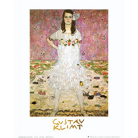 Wholesale Artwork Reproductions - Handmade Gustav Klimt artwork Reproduction Mada Primavesi oil painting canvas High quality Wall decor