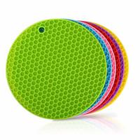 Wholesale Round Trivet - Micro Easy Grab Multipurpose Silicone Microwave Splatter Guard, Trivet, Placemat, Jar Opener, Pot Grabber, Food Cover, Microwav