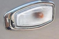 Wholesale Lamp Tucson - High Quality(1 pair)ABS Chrome Turn light Directional lamp Cover FIt for Hyundai TUCSON 2005-2009