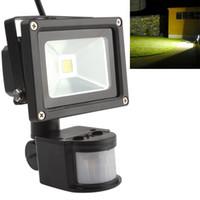 Wholesale Pir Rgb - 20W PIR Infrared Body Motion Sensor LED Flood Light AC 85-265V Waterproof Landscape Lamp Garden Refletor Spotlight Floodlight LEG_846