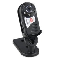 скрытое ночное видение ip-камеры оптовых-Wholesale-Q7 Wireless WiFi HD IP Camera Mini DVR Infrared Night Vision Sport DV Hidden Video Recorder Camera New  Camcorder