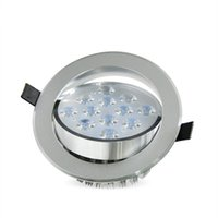 Wholesale 277v Led Spot Lights - LED Ceiling Downlight 5W 7W 9W 12W 15W 18W LED Recessed Cabinet Wall Spot light Down Lamp Cold White Warm White AC 85-277V
