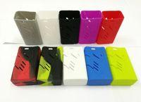 vape mod casos bolsas al por mayor-NUEVO fumar t-priv 220 w funda de silicona bolsa de colores de goma funda protectora de la piel para tpriv 220 caja Mod Vape Starter Kit