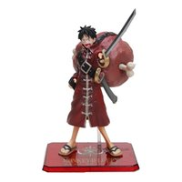 6 '' 15cm Novo Anime One Piece Film Z Monkey D Luffy PVC Action Figure Coleção Modelo Toy