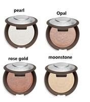 Wholesale Wholesale Pearl Powder - Becca New Shimmering Skin Perfector Pressed Rose Gold Moonstone Pearl Opal Matte Color Bronzer Highlighter Glow Kit