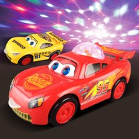 Wholesale Birthday Cars - Cars Toys Cartoon Lighting Black Storm Diecast Plastic Birthday Gifts For Kids Boys Children