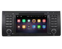 Wholesale Dvd Car For X5 - 1Din Android6.0 RAM 2G 8core 7inch car dvd stereo player for BMW M5 E39 X5 E53 with Wifi Bluetooth USB DVR OBD