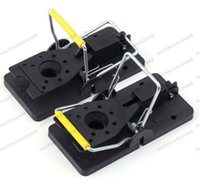 Wholesale Mouse Snap Trap - NEW Rat Trap Heavy Duty Snap-E Mouse Trap-Easy Set Catching Catcher FREE SHIPPING MYY
