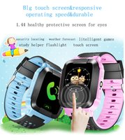 Wholesale Security Fitness - G80 kids smart watch kids gps watch phone tracker Children baby Security Monitor Anti-lost SOS Smartwatch Phone for IOS and Android band