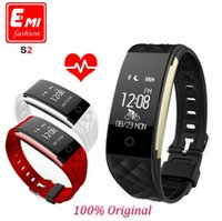 Wholesale Bluetooth Smart Band S2 Wristband Heart Rate Monitor IP67 Waterproof Smartband Activity Tracker Bracelet For Android IOS VS FitBit Charge