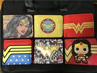 Wholesale Pvc Price Holder - Comics DC Wallet Hero Wonder Woman Wallet Super Hero Short Purse for Teenager Dollar Price