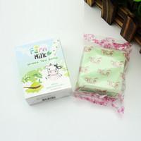 Wholesale Natural Soaps - Handmade Milk Green Tea Soap Skin Care Natural Soap Blackhead Remover Acne Treatment Oil Control Face Soap 3006033