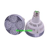 Wholesale Wholesale Indoor Track - High Power CREE E26 E27 Par30 Bulbs 35W Led Spot Light 24LEDs tracking spotlights lamps indoor lighting AC 85-265V CE UL