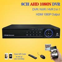 ingrosso dahua channel nvr-LLLOFAM Home 8Channel 1080N 720P H.264 Videoregistratore HDMI 1080P WIFI Sorveglianza di rete DVR TVCC 8CH con 3 porte USB